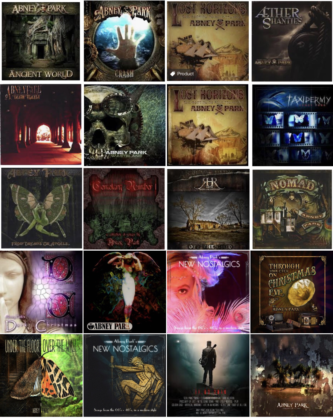 Abney Park Vault - Download All Songs - $100 00 : Abney Park